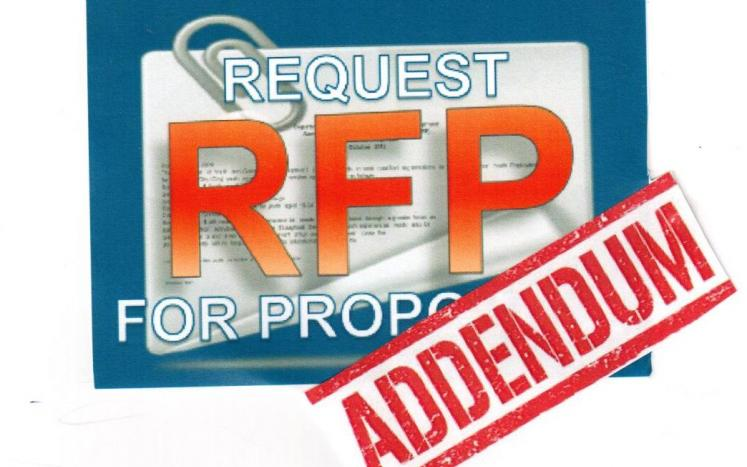 RFP Addendum