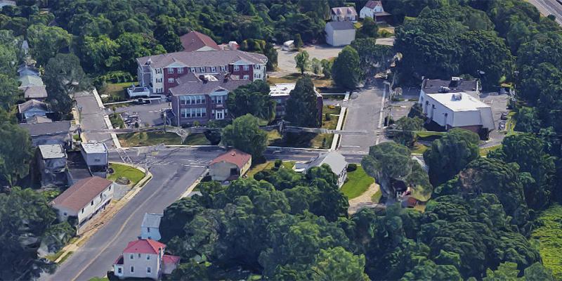 Aerial of Lawnside